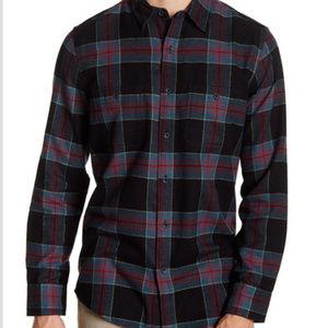 14th & Union Men's Plaid Regular Fit Flannel Shirt